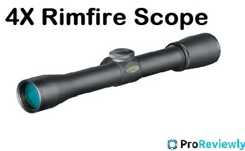 Best 4x Rimfire Scope reviews