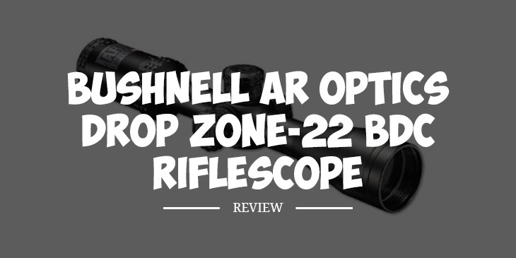 Bushnell AR Optics Drop Zone-22 BDC Riflescope