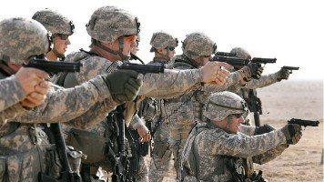 US army handgun