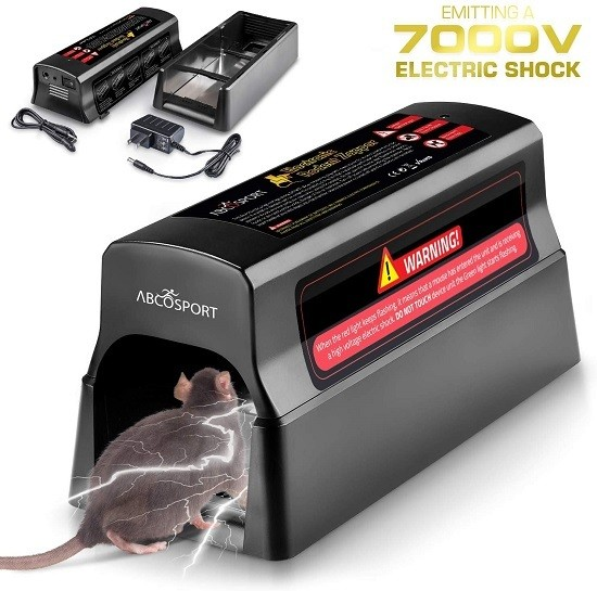 Electronic Humane Rodent Zapper