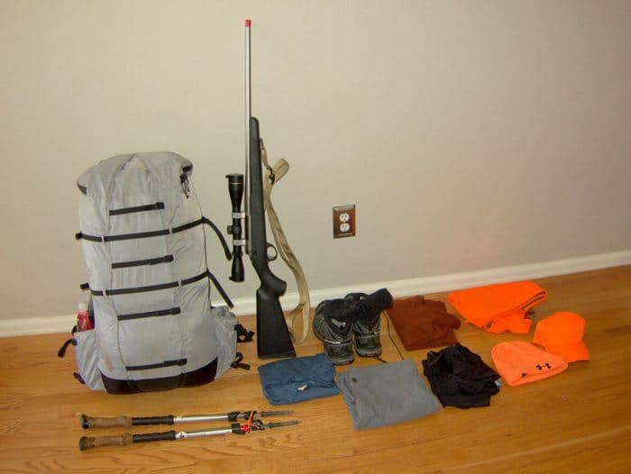 before shot hunting gear