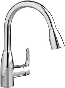 American Standard 4175300.002 Colony Soft 1 Handle High Arc Pull Down Kitchen Faucet