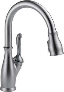 Delta Faucet Pull Down Leland Kitchen Faucet with Pull Down Sprayer