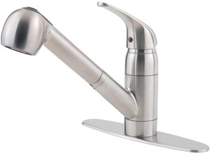 Pfister G13310SS Pfirst Series 1-Handle Pull-Out Kitchen Faucet
